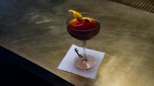 The signature manhattan is made to a recipe that dates back to the 1860s.