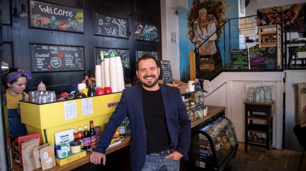 Taste of home: Diego Reyes offers food and drink inspired by his homeland at Cento Mani.