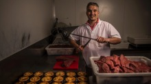 The new owner of Harry's Cafe de Wheels, Tino Dees of the German Butchery in Bexley North, is the first new owner since ...