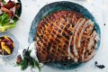 Andrew McConnell's glazed Christmas ham.