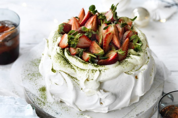 Or his strawberry matcha pavlova <a ...