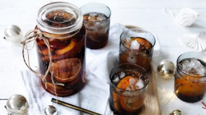 Adam Liaw's cherry chinotto cordial.