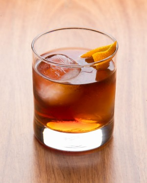 Whisky Den's Old Fashioned.