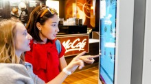 The touch screens inside a McDonald's are no more concerning than a doorknob.
