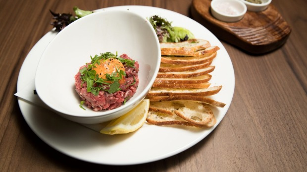 Steak tartare is served 'til 2.30am.