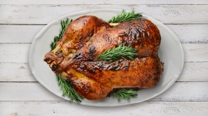 Particular care should be taken to make sure a turkey is cooked properly.