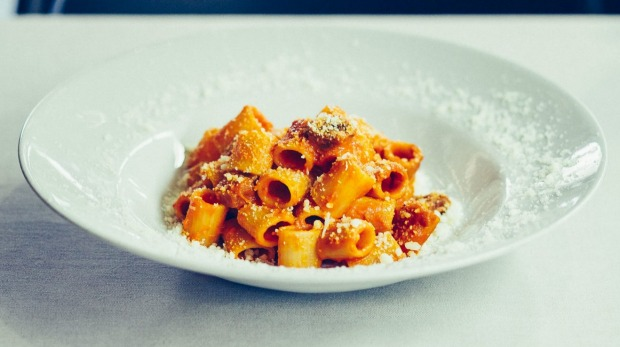 Rome is a city fuelled by pasta.