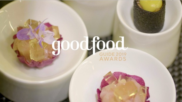 Video still from The Pinnacle video from the Good Food Guide 2019 awards.