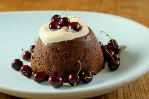 Gluten-free Christmas pudding by Arabella Forge.