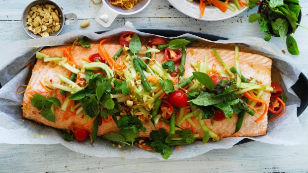 As an oily fish, salmon is packed with healthy nutrients.