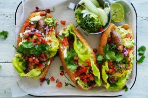 Adam Liaw's taco and hot dog mash-up.