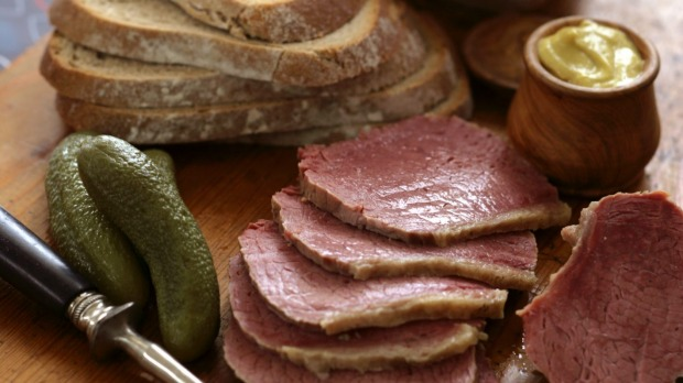Stephanie Alexander's corned beef for sandwiches.