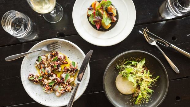 Dishes at Franklin, a restaurant in Hobart, on Tasmania in Australia, Dec. 5, 2017.  From Bourbon Street to the South Pacific pull of Fiji, destinations abound for the tourist with a strong case of wanderlust. (Lauryn Ishak/The New York Times) .