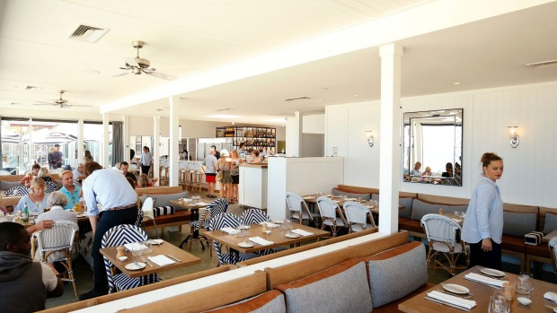 Bright and beachy: Elwood Bathers is located right on the foreshore.