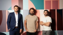 Bartender Luke Whearty and Worksmith owner Michael Bascetta are opening venues at Melbourne Central's Ella precinct.