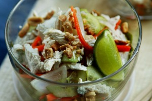 This chicken salad is great for picnics or work lunches.