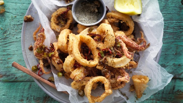 Salt and pepper squid is a favourite - though nobody cooks it at home.