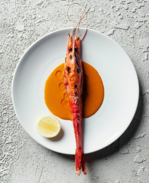 Scarlet prawns are a new menu favourite.