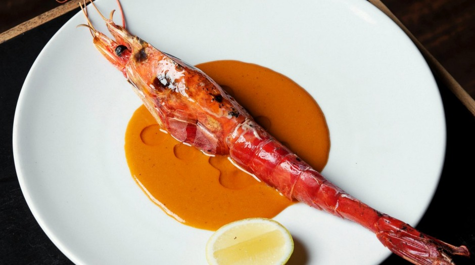 'Worth every bit of the hype': Scarlet prawns at Ester.