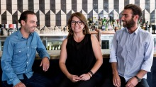 Antoine, Nathalie and Edouard Reymond, children of Jacques Reymond, are opening a third restaurant in Cremorne, Melbourne.