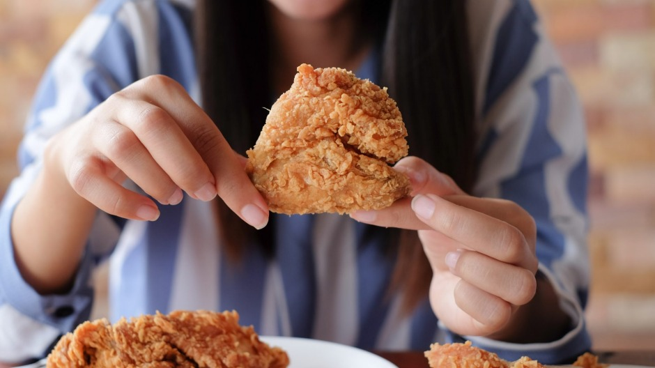 A study published in the British Medical Journal found fried chicken to be the deadliest fast food for older women.
