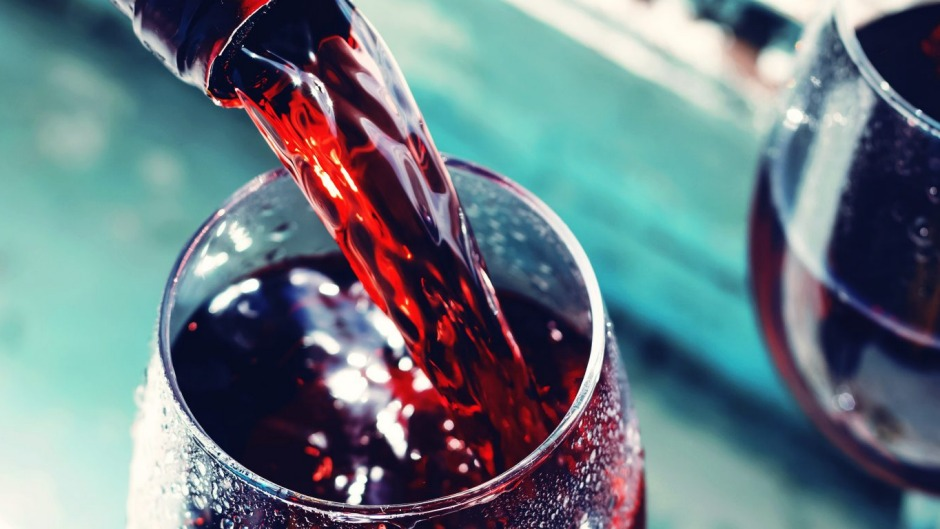 Some red wines can be lightly chilled in summer.