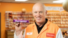The Polly Waffle is back: Robern Menz chief executive Phil Sims.