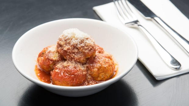 Pork and veal polpetti in house-made sugo.