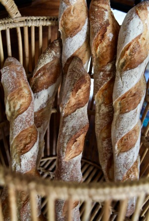 L'Epi D'or Bakery & Cafe's crunchy baguettes sell out before noon.