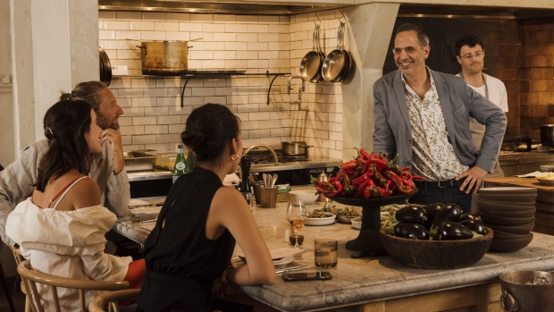 Yotam Ottolenghi at a Good Food reader lunch at Fred's in Sydney.