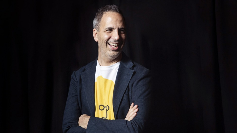 Yotam Ottolenghi in conversation at the Sydney Opera House.