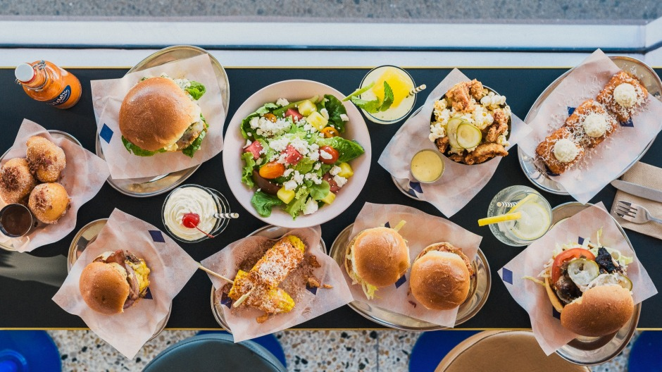 Slider Diner's menu has expanded to include pulled pork doughnuts and truffled mac and cheese.