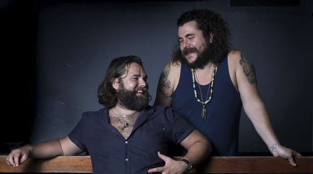 Kenny Graham (left) and Jake Smyth's burger joint is coming to a new Melbourne cocktail bar.
