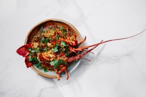 Southern rock lobster in XO chilli sauce from Donna Chang in Brisbane.
