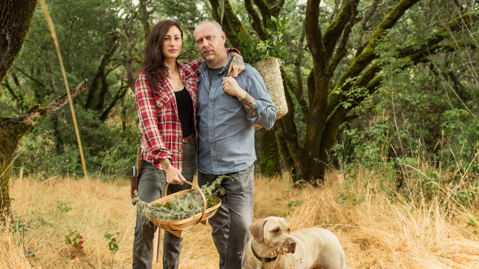 Katina and Kyle Connaughton, owners of Single Thread, say the restaurant and farm have a symbiotic relationship.