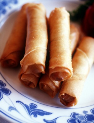 'The guilt of spring rolls at lunch lingers.'