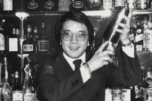 Peacock Gardens owner Mathew Chan pictured at the restaurant in 1977.