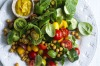 Cold curry: Danielle Alvarez 's chickpea and tomato salad with coconut dressing <a ...