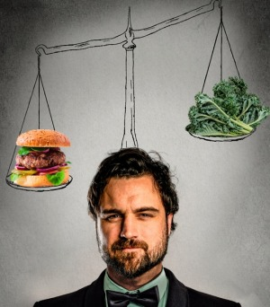 Tipping the scales: Food writer Callan Boys.
