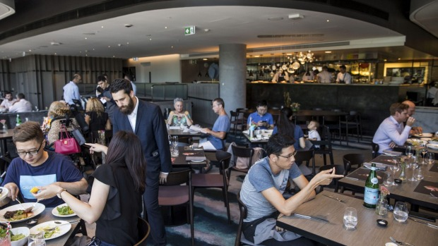 Flying Fish, in the former Balla site, has had a suitably oceanic makeover.