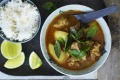 Neil Perry's pork, lemongrass and potato curry.