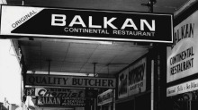 Oxford Street is now without any Balkan restaurants for the first time in more than 50 years.