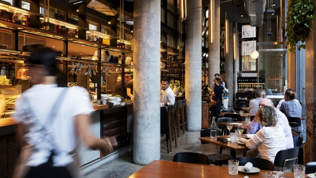 The Chippendale spin-off occupies a strong-boned industrial space.