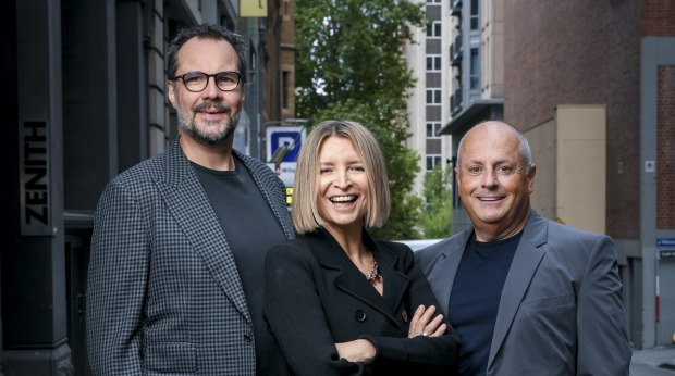 Martin Benn, Vicki Wild and Chris Lucas, the industry figures behind what is set to be a game-changer in the Australian ...