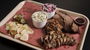 Must-try dish: Meat plate with sides for one, $35.