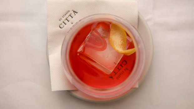 Di Stasio Citta review. 1 March 2019. The Age Epicure. Photo: Eddie Jim. Negroni.