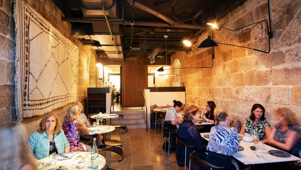 The golden warmth of Tayim's tall sandstone walls provide all the atmosphere you need.