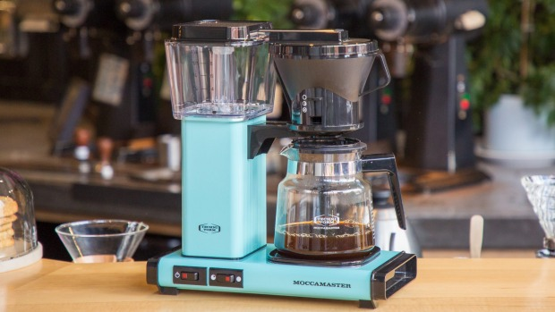 The classic Moccamaster coffee maker