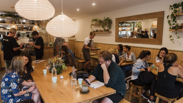 Cafe Monaka in Mona Vale is part cafe, part tea house and part retail shop.