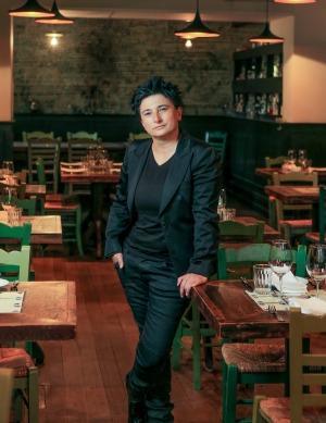 Epocha owner Angie Giannakodakis says patrons no longer know how to behave.